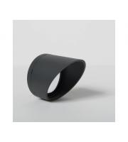 KSR Lighting Moby Anti-Glare Shroud Accessory (Anthracite)
