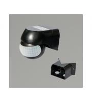 KSR Lighting External PIR Sensor c/w Corner Bracket (Black)