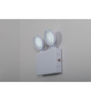 KSR Lighting Navara Self Test Emergency Twin Spot Light
