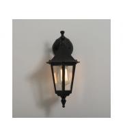 KSR Lighting Coria E27 Downwards Wall Lantern (Black)