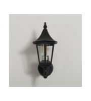 KSR Lighting Coria E27 Upwards Wall Lantern (Black)