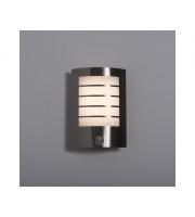 KSR Lighting Acqua 8W 3000K LED Wall Light with PIR Sensor (Steel)