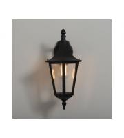 KSR Lighting Coria Grande E27 Downwards Wall Lantern (Black)