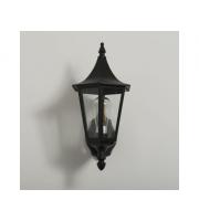 KSR Lighting Coria Grande E27 Upwards Wall Lantern (Black)
