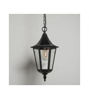 KSR Lighting Coria Grande E27 Hanging Lantern (Black)