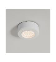 KSR Lighting 1.5W 3000K LED Recessed Cabinet Light White