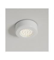 KSR Lighting 1.5W 4000K LED Recessed Cabinet Light White