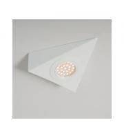 KSR Lighting 1.5W 3000K LED Triangular Cabinet Light White