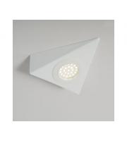 KSR Lighting 1.5W 4000K LED Triangular Cabinet Light White