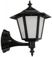 Eterna 7W IP44 LED Wall Lantern (Black)