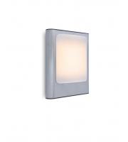 Lutec Face Wall Light 3000K IP44 (Steel)