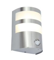 Lutec Cameo Wall PIR 3000K IP44 (Steel)