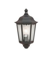 Lutec Cotswold Wall Light E27 IP44 (Black)