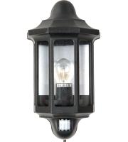 Lutec Corniche Wall Light E27 IP44 (Black)