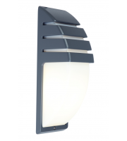 Lutec Wall Light Heavy-duty Aluminium Opal Pc SALE ITEM
