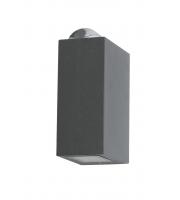 Lutec Evans Wall Light 4000K IP54 (Grey)