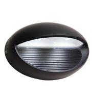 Lutec Eyes Wall Light 4000K IP54 (Grey)