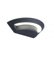 Lutec Ghost Wall Light 4000K IP54 (Grey)