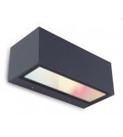 Lutec Gemini Wall Up & Down RGB IP54 (Grey)