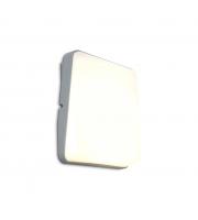 Lutec Even Wall Light 3000K IP54 (Silver)