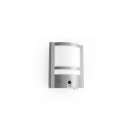 Lutec Vesta   Wall PIR Camera 3000K IP54 (Steel)