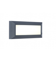 Lutec Wall Light Heavy-duty Aluminium Opal Pc 10.W SALE ITEM