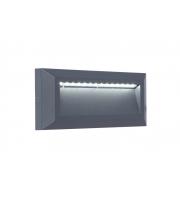 Lutec Helena Wall Light 4000K IP54 (Grey)
