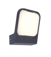 Lutec Faccia Wall Light 3000K IP54 (Grey)