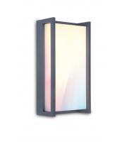 Lutec Qubo Wall Light RGB IP54 (Grey)