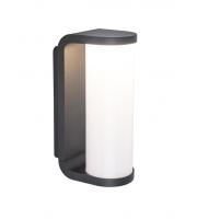 Lutec Adalyn Wall Light 3000K IP44 (Grey)