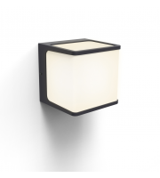 Lutec Telin Wall Light 3000K IP54 (Grey)