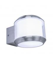 Lutec Whisper Wall Light E27 IP44 (Steel)