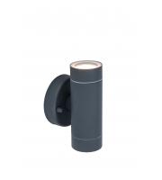 Lutec Rado Blk Wall Up & Down GU10 IP44 (Black)