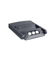 Lutec Mini Ledspot Wall Light 4000K IP65 (Grey)