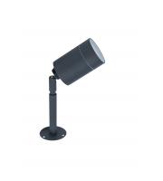 Lutec Slimline Wall Light 3000K IP54 (Black)