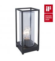 Lutec Portable Heavy-duty Aluminium Clear Glass 40W SUBJECT TO LAMP USEDL