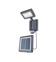 Lutec Solar Light Heavy-duty Aluminium Clear Pc 4W 450L