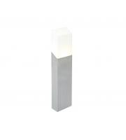 Lutec Bollard Light Stainless Steel Opal Pc 8W 400L