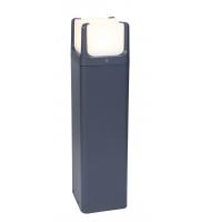 Lutec Bollard Light Heavy-duty Aluminium Opal Pc 9W 650L