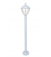Lutec Bollard Light Heavy-duty Aluminium Clear Pc 9W 330L
