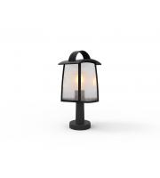 Lutec Bollard Light Heavy-duty Aluminium Seedy Glass 40W SUBJECT TO LAMP USEDL