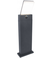 Lutec Pano  Outdoor Bollard 3000K IP54 (Grey)
