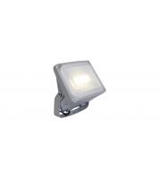 Lutec Negara Wall Light 4000K IP54 (Silver)