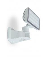 Lutec Peri Wall PIR 5000K IP54 (White)