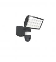 Lutec Peri Wall PIR Camera 5000K IP44 (Grey)