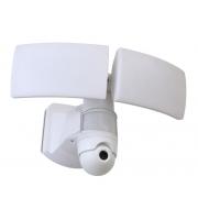 Lutec Libra Wall PIR Camera 5000K IP44 (White)