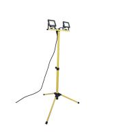 Lutec Colossus (2 X 10 Watt) Tripod  5000K IP65 (Yellow)