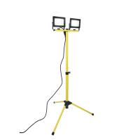 Lutec Colossusn(2 X 30 Watt) Tripod  5000K IP65 (Yellow)