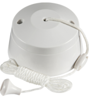 ML Accessories 6A 1 Way Ceiling Pull Cord Switch x 10 Pack (White)
