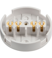 ML Accessories 20A Junction Box 4 Terminal x 10 Pack (White)